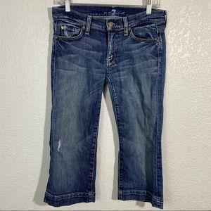 7FAMK Crop Dojo's Size 28